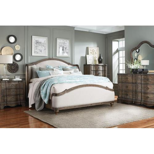 Parliment Drawer Chest, Distressed Brown