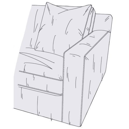 Product Image - Living Room Sage RAF Loveseat