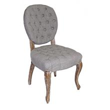 Round Back All Tufted Side Chair