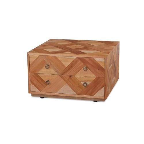 Gallery - Harden 2 Drawer Square Coffe Table