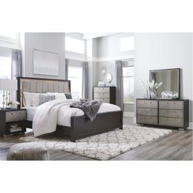 Maretto 4 Pc. California King Bedroom Set Two-tone