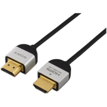 """View Product - Slim High Speed HDMI Cable - 6' 5"""""""