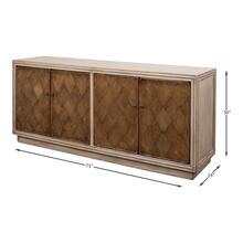 See Details - Argyle Sideboard, 4 Doors, Stone Grey