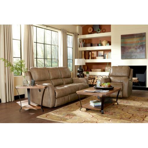 Product Image - Hammond Leather Power Reclining Sofa