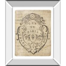 Letter Crest Iia Vintage V2 By Wild Apple Portfolio