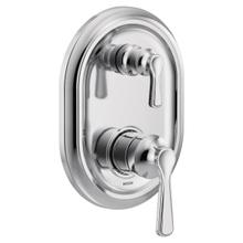 Colinet chrome m-core 3-series with integrated transfer valve trim