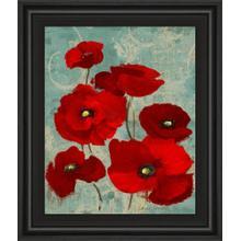 """Kindle Poppies I"" By Lanie Loreth Framed Print Wall Art"