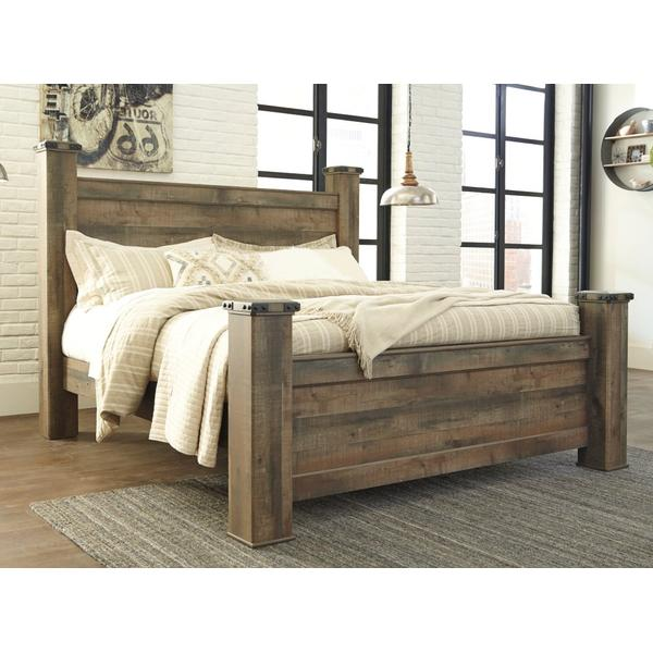 Trinell King Poster Bed