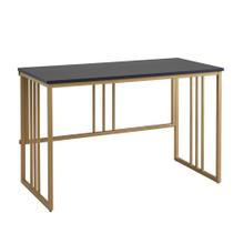 See Details - Mission Folding Home Office Computer Desk/Table Workstation #70001-BLKGD