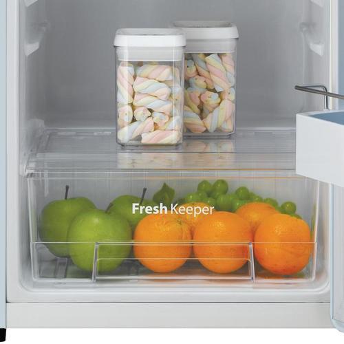 Winia - 4.4 cu. ft. Retro Compact Refrigerator - Cream