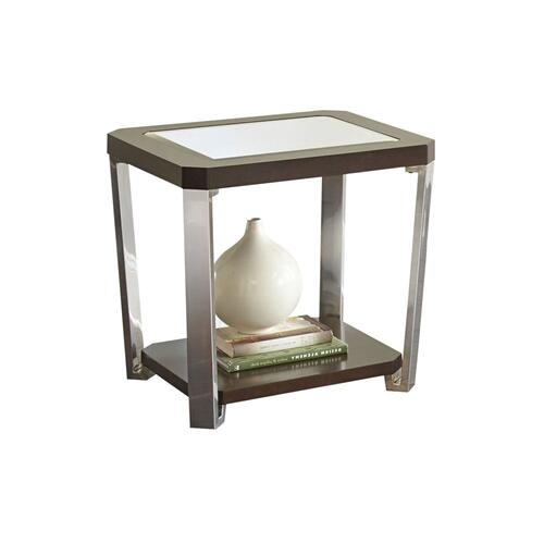 Truman End Table [stainless steel]