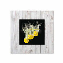 See Details - Lemons With Background Miniature Fine Wall Art