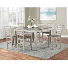 Product Image - Abacus 5-Piece Counter Dining Set (Counter Table & 4 Counter Chairs)