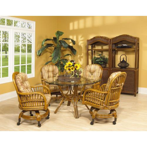 Antigua Game Chair With Casters