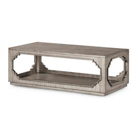 Vogue Rectangular Coffee Table with Casters