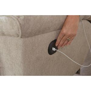 Power Lay Flat Reclining Sofa w/DDT