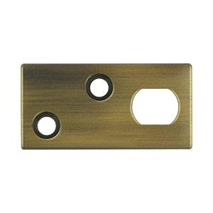 Guide Plate for EFB Extension Flush Bolt - Antique Brass