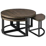 Johurst Coffee Table With Stools (set of 5) Product Image