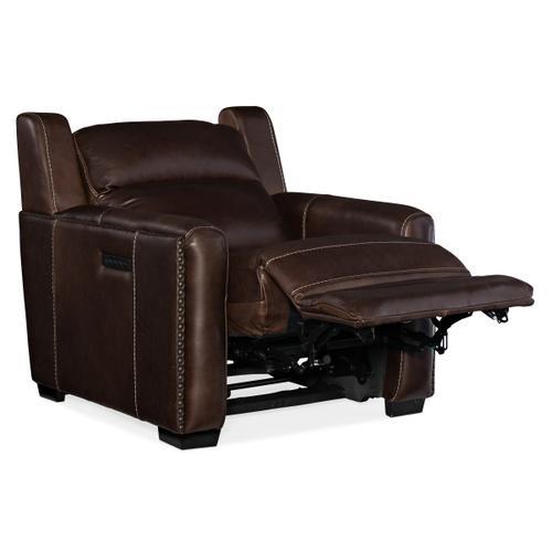 Lincoln Power Recliner w/ Power Headrest & Lumbar Recline