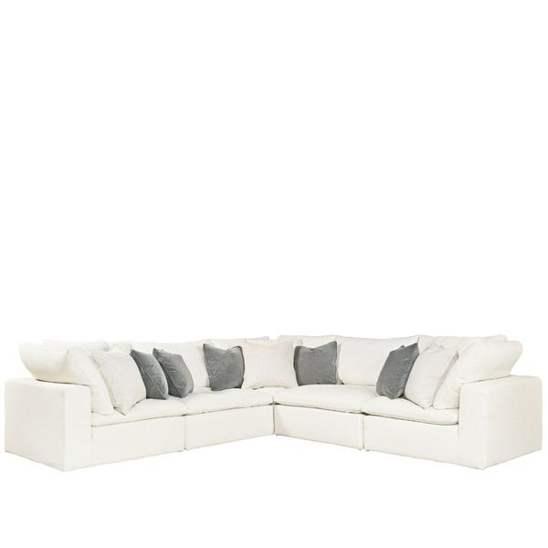 See Details - Palmer Sectional-5 Piece