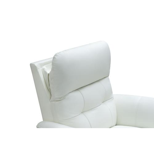 Horton Power Recline Winter-White