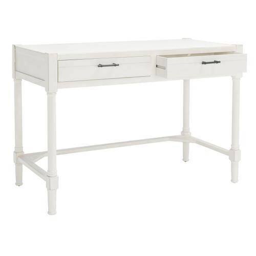 Filbert Writing Desk - Distressed White