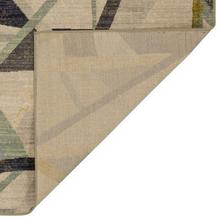 Abstract Area Rug, Multi- Rectangle