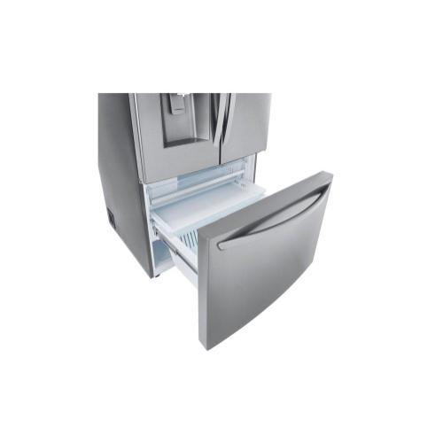 (Open Box) 30 cu. ft. Smart wi-fi Enabled French Door Refrigerator with Door-in-Door®