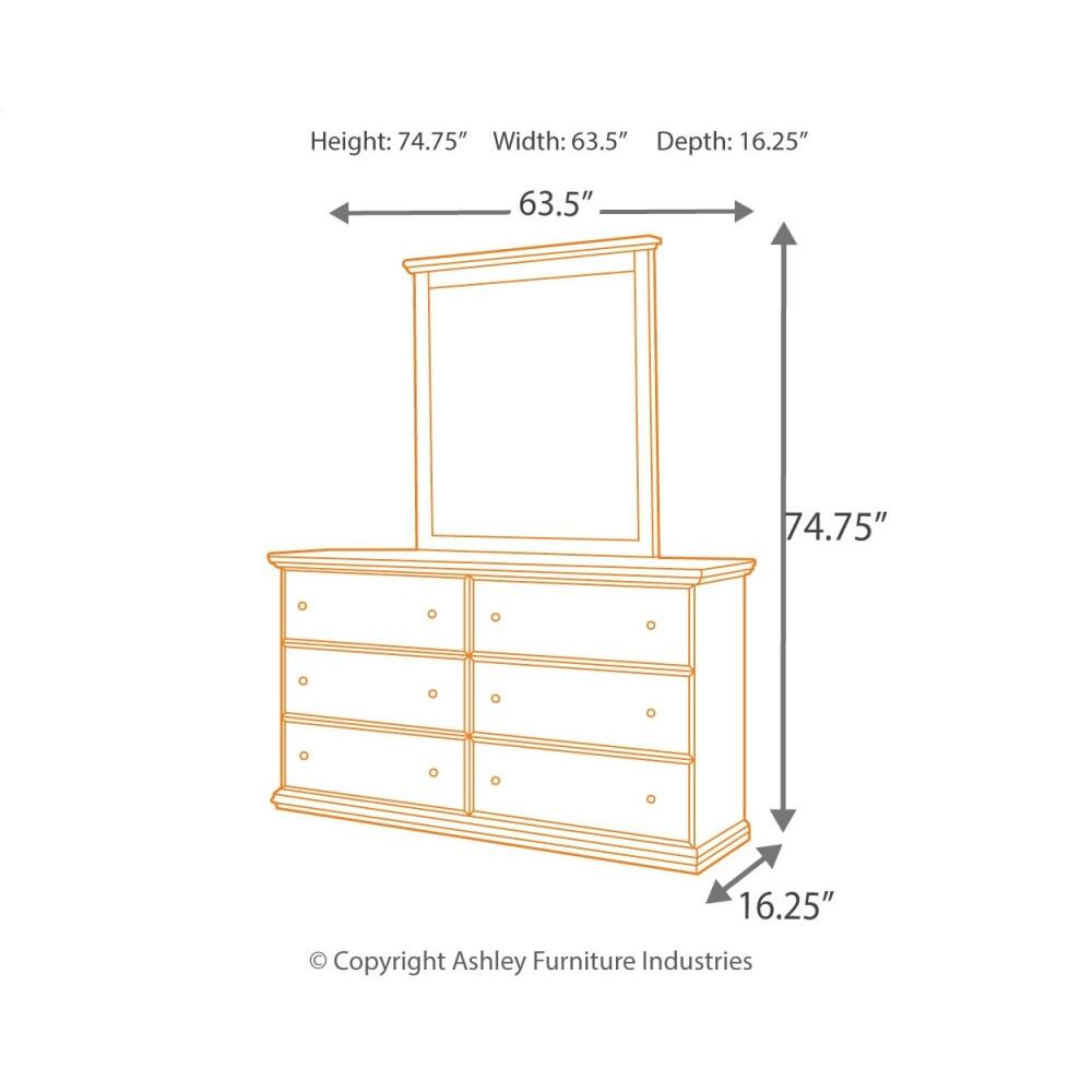 Maribel Dresser and Mirror