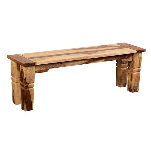 Tahoe Dining Table, Chairs & Bench With Extensions, SBA-9039N