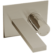 Otella In Wall Lav Faucet Brushed Nickel