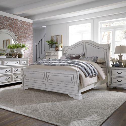 Gallery - Queen Sleigh Bed, Dresser & Mirror, Chest, Night Stand