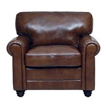 Andrew LEATHER CHAIR in Havana       (2511-C,29040)