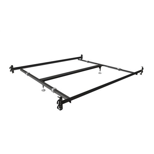 Mantua Bed Frames - 756-QK Mantua Hook-On Bed Rails for Queen & King Headboards and Footboards