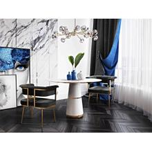 View Product - Astrid Grey Velvet Chair
