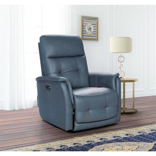 Horton Power Recline Bluegray