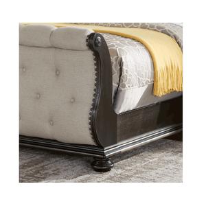 Rhapsody Sleigh 4-Piece Queen Set(Q Bed/NS/Dresser/Mir)