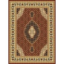 "Persian Design 1 Million Point Heatset Monalisa T02 Area Rugs by Rug Factory Plus - 2'8"" x 10' / Burgundy"