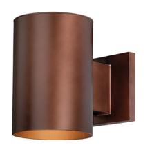 "Chiasso 5"" Outdoor Wall Light Bronze"