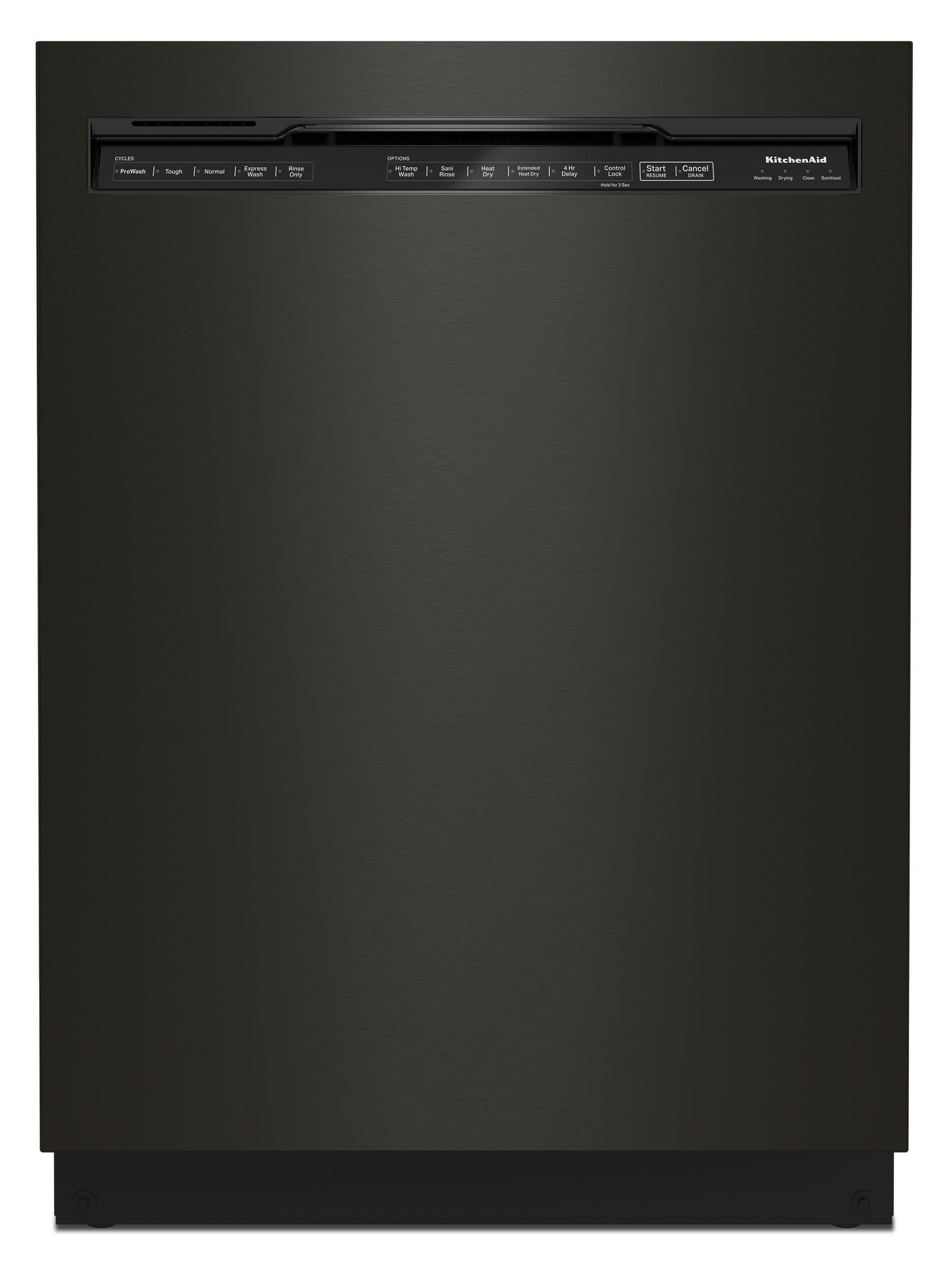 KitchenAid39 Dba Dishwasher In Printshield™ Finish With Third Level Utensil Rack - Black Stainless Steel With Printshield™ Finish