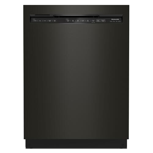 KitchenAid® 39 dBA Dishwasher with Third Level Utensil Rack - Black Stainless Steel with PrintShield™ Finish