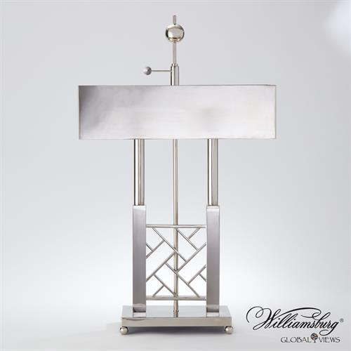 Carter Desk Lamp-Nickel