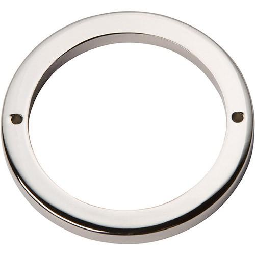 Tableau Round Base 3 Inch - Polished Nickel