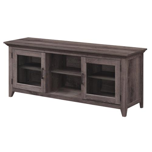 "TV Stand for TVs up to 65"", Embossing Oak"
