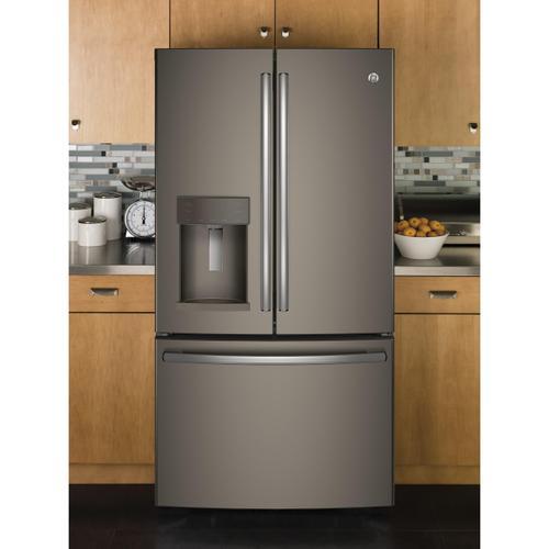 Gallery - GE® ENERGY STAR® 25.8 Cu. Ft. French-Door Refrigerator