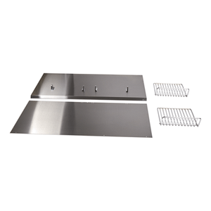 "Jenn-AirBackguard with Shelf - 48"" Stainless Steel"