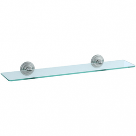 Highlands - Glass Shelf - Brushed Nickel