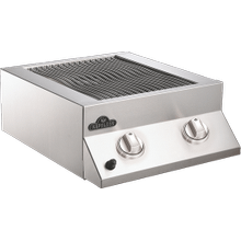 Built-in Flat Top Dual Side Burner Range Burners , Stainless Steel , Natural Gas