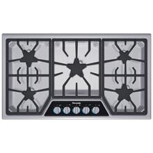 "SGSX365FS Masterpiece 36"" Stainless steel gas cooktop 5 Burner"