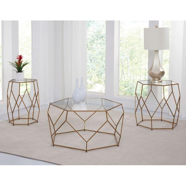 See Details - Roxy 3-Piece Occasional (Cocktail & 2 End Tables)